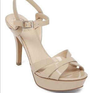 Vince Camuto Peppa High Heel Sandals Nude 9.5